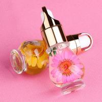 1 бутылка 15 мл Масло для кутикулы Профессиональный Nail Питание масло Дизайн ногтей Mix вкус сушеные цветы Маникюр Инструменты 12.19