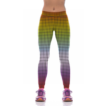 NEW KYK1036 Sexy Girl Women Polka Dots 3D Prints High Waist Running Fitness Sport Leggings Jogger Yoga Pants