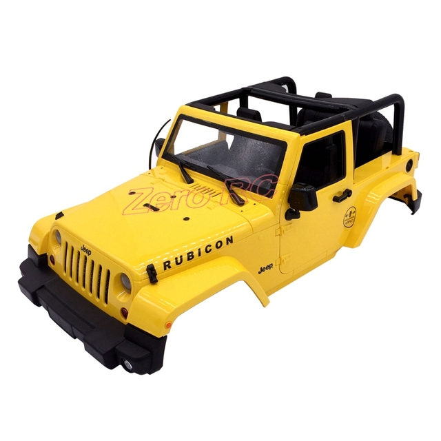 1 10 Rc Truck Hard Body Shell Canopy Rubicon Topless For: Aliexpress.com : Buy 1/10 Scale RC Truck HARD Body Shell 1