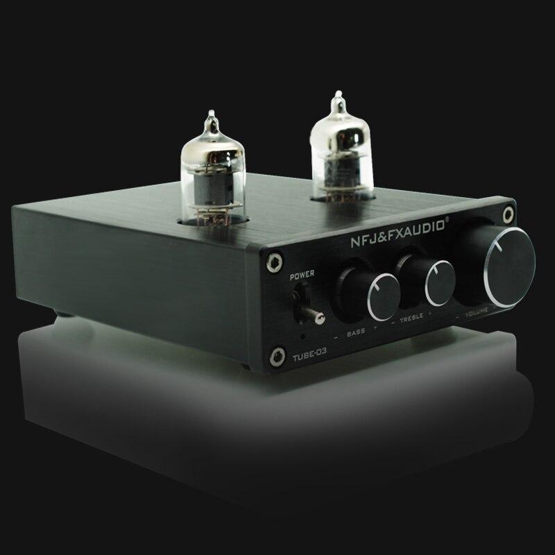 2017 FX-Audio Novi TUBE-03 Mini avdio vhodni prednapetostnik DAC zvok - Domači avdio in video - Fotografija 2