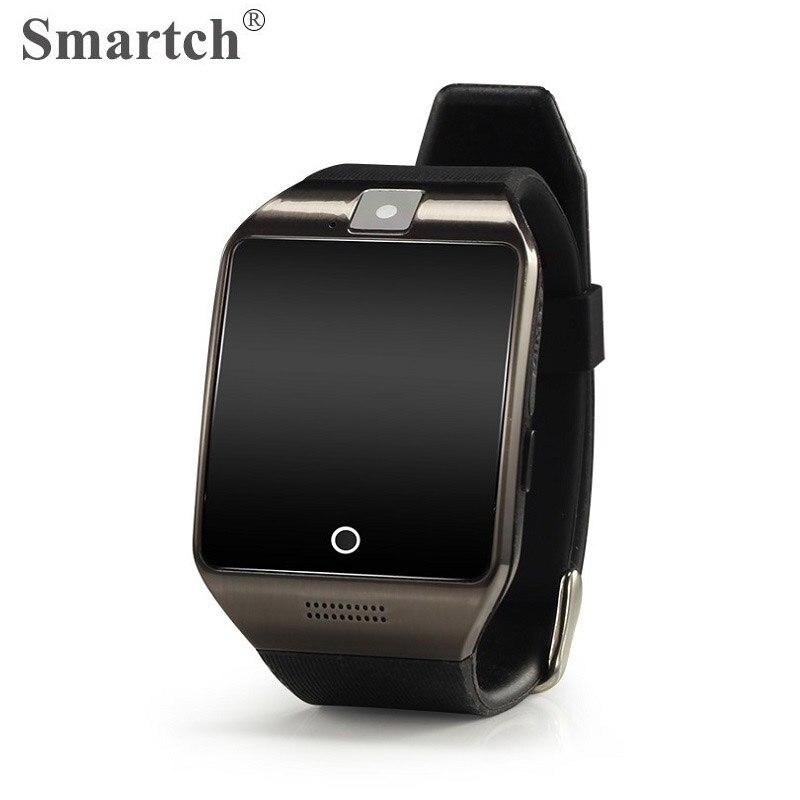 imágenes para 2017 Moda Reloj APRO para Android Teléfono Inteligente, Una Función de 8 GB de Memoria, Bluetooth Reloj Inteligente, Pantalla Curva, NFC, Tarjeta SIM SmartWatch