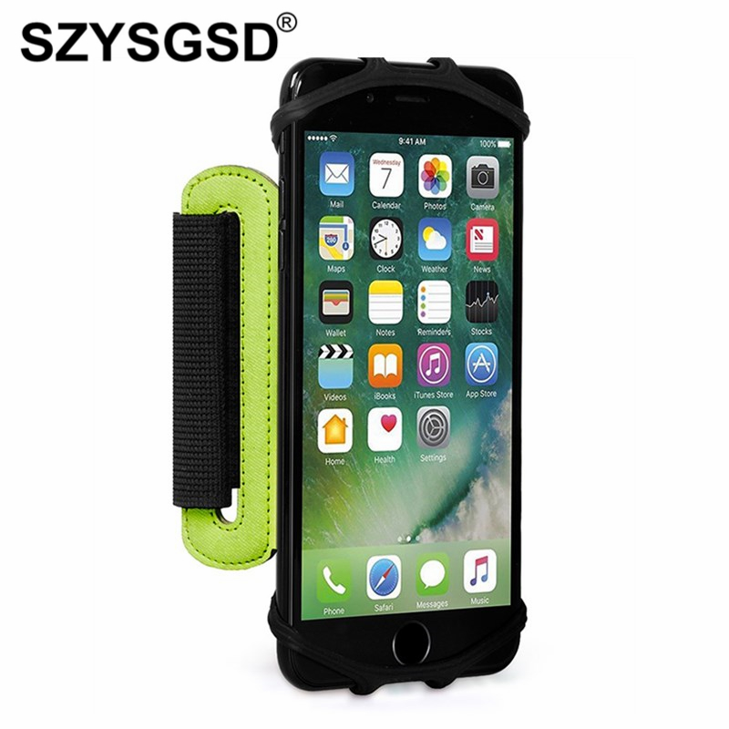 180 Degree Rotatable Running Phone Arm Bag Wrist Bag Wristlet Phone Case for Jogging Cycling Gym Arm Band Bag 3.5-6 inch Phone