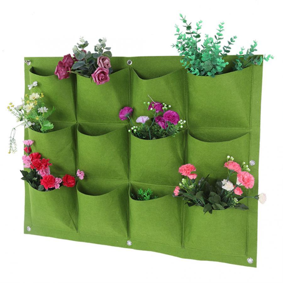 Grow Bag Wall Hanging Planting Bags
