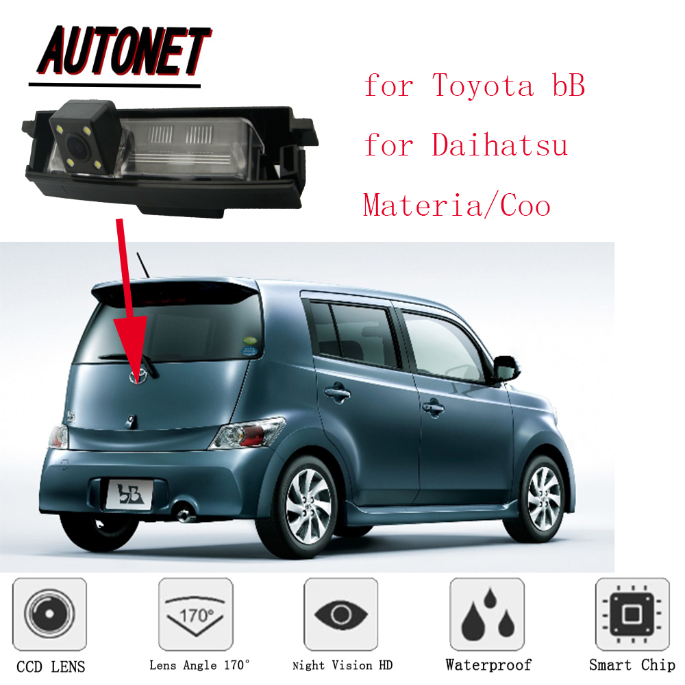 AUTONET rear view camera for Toyota bB NCP3# QNC2# Daihatsu Materia/Coo/HD  Night Vision/Parking Camera/license plate camera-in Vehicle Camera from ...