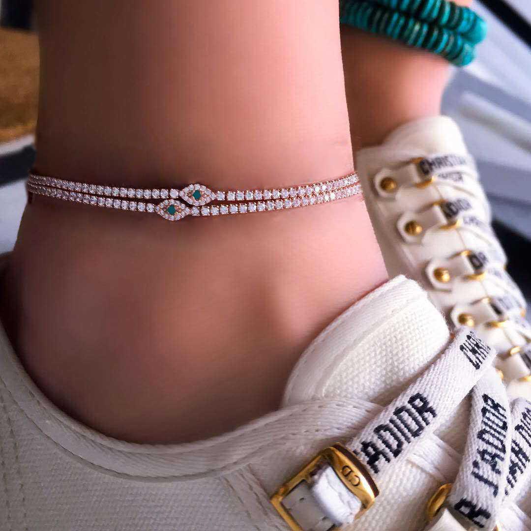 Yeni Bells yuvarlak Boho halhal ayak zinciri ayak bileği yaz bilezik Charm halhal püskül sandalet yalınayak plaj ayak gelin takı hediye