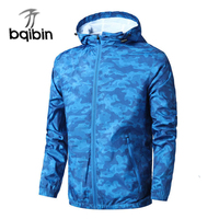4XL Plus Size 2017 New Spring Autumn Mens Fashion Outerwear Windbreaker Men S Thin Jackets Hooded