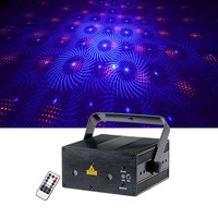 Sharelife Portable Remote Control Blue Red&Green RGB Laser Mixed effect Light DJ Gig Party Home Show System Stage Lighting L12R