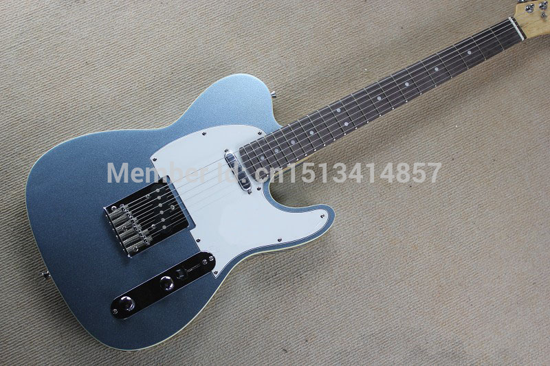 Free shipping Chinese Factory Custom Shop 2017 100% NEW  Deluxe TL guitar metal gray color electric guitar  323 free shipping chinese factory custom 2015 100