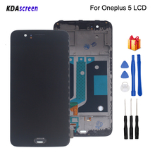 For Oneplus 5 A5000 LCD Display Touch Screen With Frame Digitizer For Oneplus 5 Screen LCD Display Phone Parts Free Tools