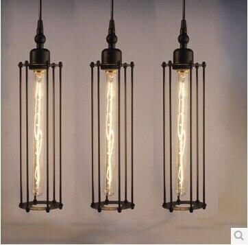 Industrielle look rohr lampen pendelleuchten esszimmer licht ...