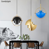 Nordic Design Lamp Led Pendant Light Living Room Decoration Suspension Luminaire Lampshade Kitchen Bedside Lustre Light