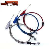Motorcycle Hydraulic Clutch Master Slave Cylinder Rod System Efficient Transfer Pump With 1200MM Hose For All