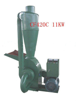 CF420C 11KW Wood Hammer Mill Animal Feed Hammer Mill With Cyclone