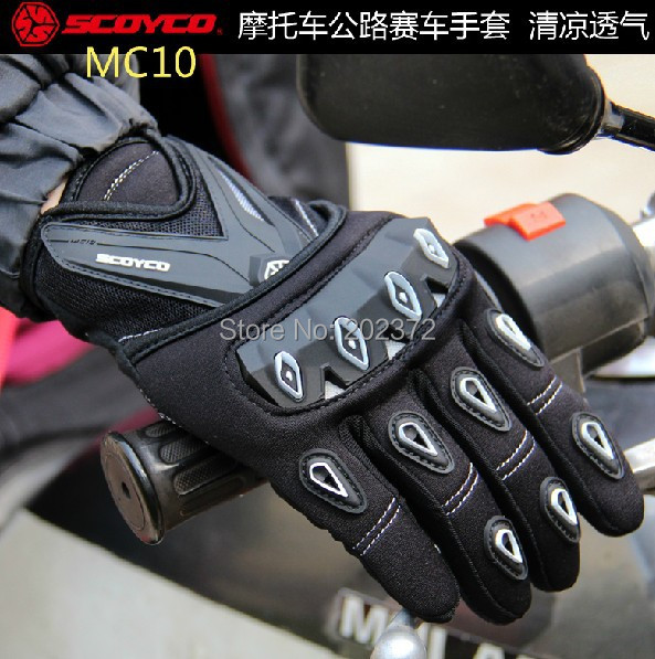 Scoyco 2012 mc10 full finger font b gloves b font for font b motorcycle b font