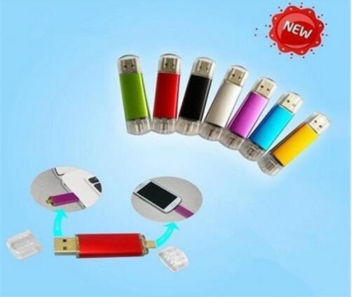 Usb Mejor venta OTG usb 2.0 usb flash drive para teléfono usb smart flash drive 8 GB 16 GB 32G 64 GB 128 GB 256 GB 512 GBpendrive