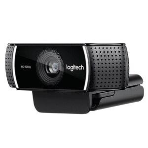 Image 2 - Caméra Web Logitech C922 dorigine Webcam Pro Stream avec Microphone Full HD 1080P vidéo Auto Focus Web cam 14MP C920 mise à niveau