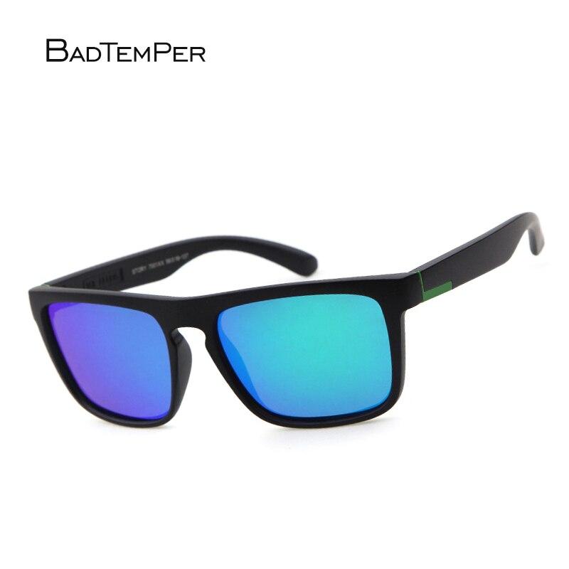 Badtemper Uomini Occhiali Da Sole Polarizzati Donne Quadrato Guida di Modo di Marca Desinger Occhiali Da Sole A Specchio Maschio Femmina Sport Outdoor