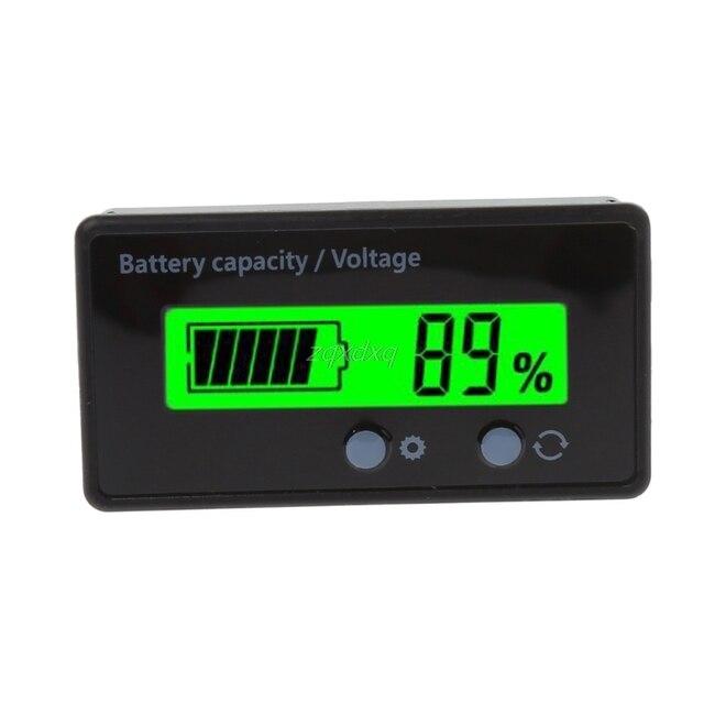8-70 V LCD Axit Chì Lithium Đèn Báo Dung Lượng Pin Vôn Kế Bút Thử Điện Áp
