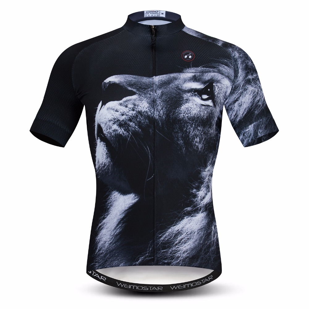 3d Cycling Jersey Men's Mountain Bike Jersey Pro Mtb Bicycle Shirts Black Team Road Racing Top Ropa Ciclismo Maillot 2018 Summer