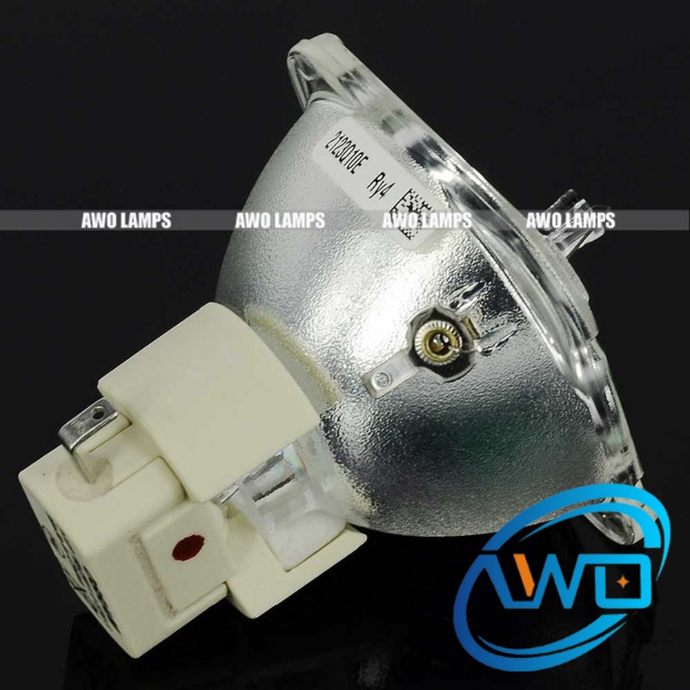 AWO Free Shipping Original Projector Bulb P-VIP180-230W1.0E20.6 Bare Lamp fitting for BENQ ACER Projectors free shipping good quality original bare projector lamp 5j j9w05 001 for benq mw665 mw665 projector