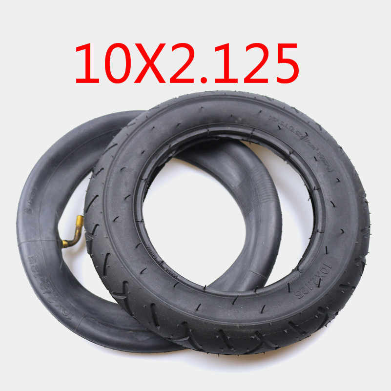 """10x2.125/"""" Electric Scooter Tire Inner Tube Set For Hoverboard Balancing Parts"""