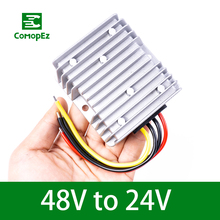 цена на Voltage Converter Regulator DC/DC 48V Step Down to 24V 5A10A15A20A22A Waterproof Voltage Reducer for Golf Cart Power Module and