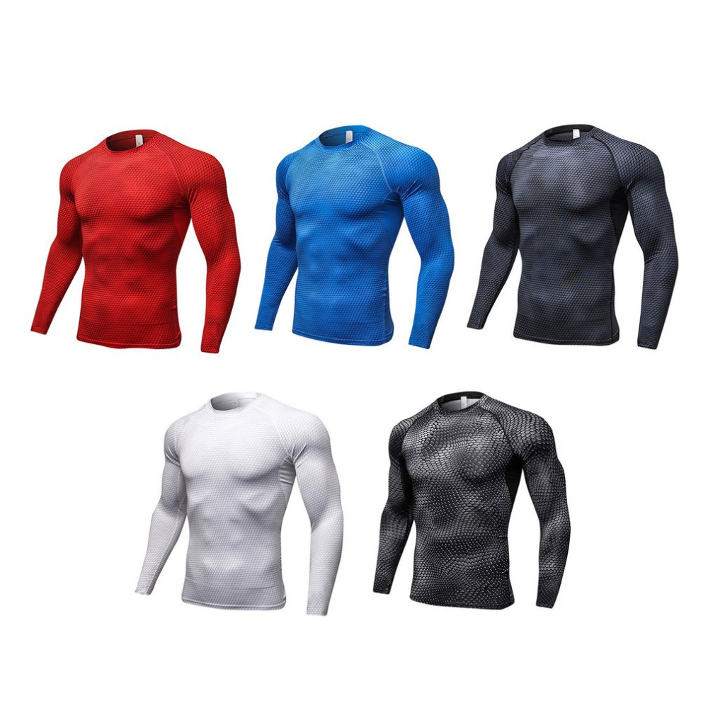 Men 3D Printed Compression Top Fast Dry Sports Short Sleeves Running Shirt Yoga Rashguard Athletic Fitness Gym T-shirt
