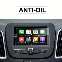 for Chevrolet 2018 Equinox 7 Inch Car Navigation Screen Protector Glass,Clear Tempered Glass Infotainment Protector