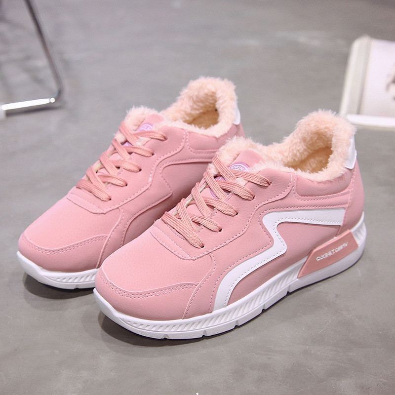 87f66b324 2018 Plataforma Las Zapatos gris Para Lace Tobillo Zapato Aumento Del De La  052 Rosa Color Botines Cálido Invierno Negro Altura Forro Botas rosado  Mujeres ...