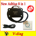 V3.0 with NOx sensor !!!  Factory price + more language! Diagnostic Tool Adblue Emulation ( 8 in 1 ) Module for Truck Fast Ship