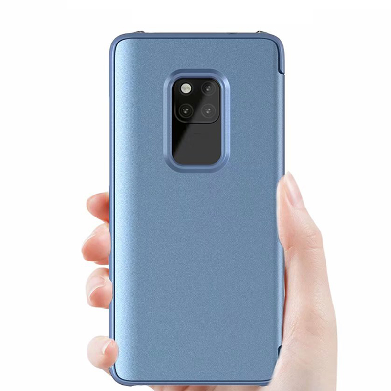 Original HUAWEI P30 Pro Flip Case Smart Mirror View Case For Huawei Mate 20 Mate 20 Pro P30 P30 Pro Leather Flip Cover