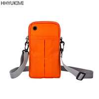 HHYUKIMI Neck Hanging Travel Passport Cover Wallet ID Holder Storage Clutch Money Bag Travel Multifunction Mobile