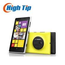 "Free gift! Nokia Lumia 1020 original mobile phone unlocked 4.5"" Touch screen 41.0MP Camra 32GB ROM 2G Dual core WIFI Refurbished"