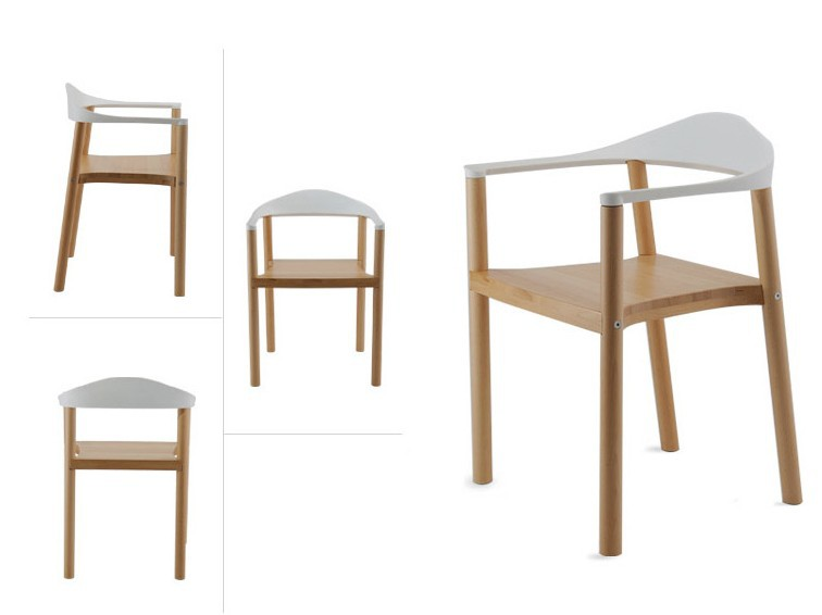 Hot New Arm Chairfashion Oak Chairwooden Dining