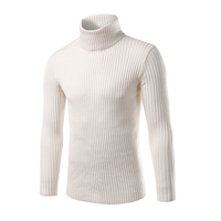 2016 Winter Mens Sweaters And Pullovers Men Turtle Neck Brand Sweater Male Outerwear Jumper Knitted Turtleneck