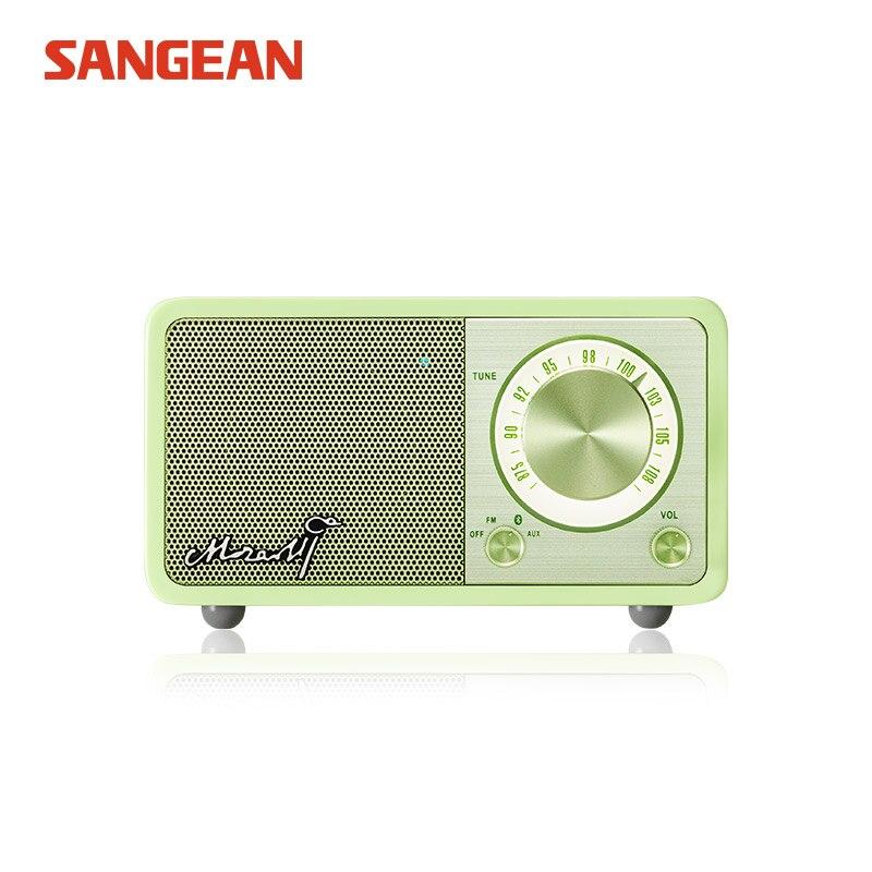 Free Shipping High quality Sangean fm radio bluetooth speaker цены онлайн