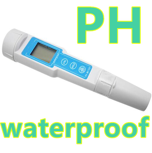 waterproof LCD  Digital Pen Type PH Meter  Tester Hydro PH tester  Pocket Hydroponics Aquarium Pool Water Test Tools 40%off