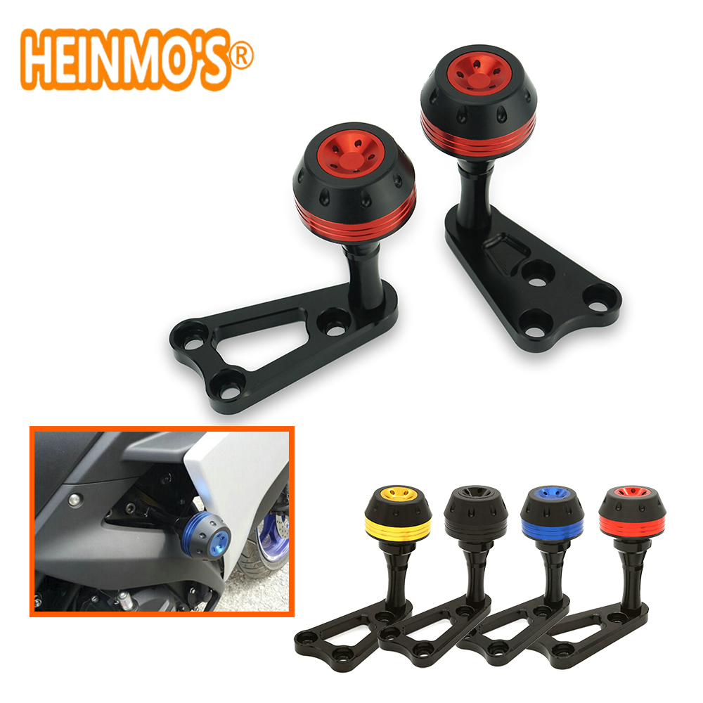 Motorbike Modified Left and Right CNC Alumunim Frame Sliders Crash Protector For Yamaha R3 R25 MT03 YZF MT-03 2015 2016 2017 new arrival motorcycle cnc crash pad engine cover frame sliders crash protector for yamaha yzf r3 2015 2016 r25 2013 2015