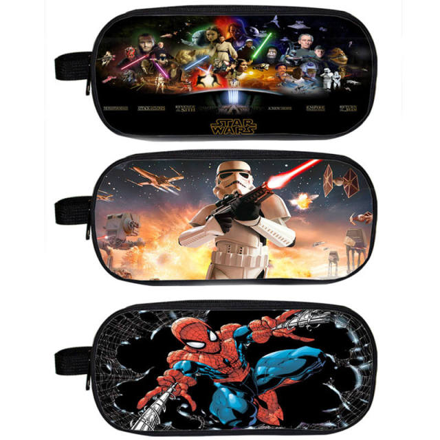 Star Wars and SuperHeroes Cosmetic/Pencil Case