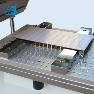 Image 4 - דיוק מתכוונן smt סטנסיל מדפסת ידנית הלחמה להדביק הדפסת מכונה