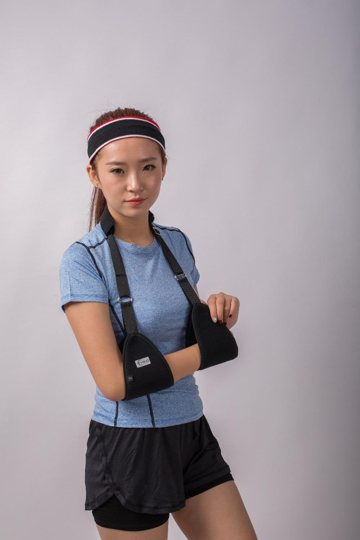Chaves e Suporta ajustável de ombro médica braço Size : Free Size