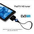 DVB-T2 Android TV Receiver Watch DVB T2 TV on Android Phone/Pad USB TV tuner pad TV stick OTG MPEG-4 H.264 video