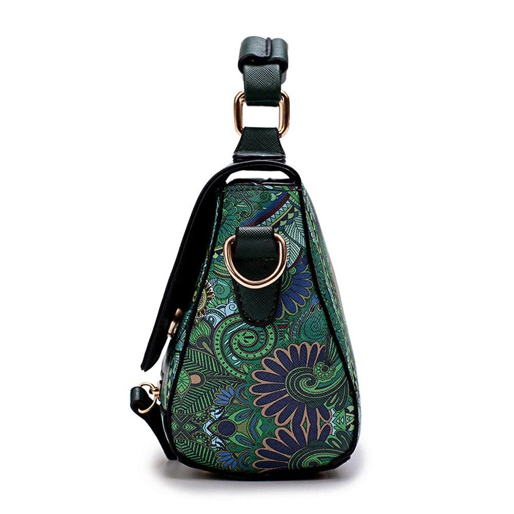 Spalla Progettista Modo Da Ragazze Hasp Di Signore Messenger Modello Borse Foresta Verde Delle Stampa Lusso Donna Donne Sacchetti UI5w6wq