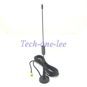 Image 3 - 10 peças/lote gprs gsm antena 900 1800 mhz 3dbi 3m cabo sma masculino magnético base de controle remoto