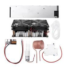 2500 W 48 V 50A ZVS Inductie Verwarming Module Hoge Frequentie Verwarming Machine Gesmolten Metalen Spoel Met Voeding Volledige kit