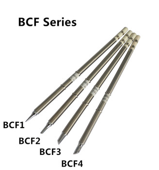 Gudhep Soldering tips T12-BCF1 BCF2 BCF3 CF4 Soldering Iron Tips for Hakko FM203 Soldering Rework Station FM2027 Handle image