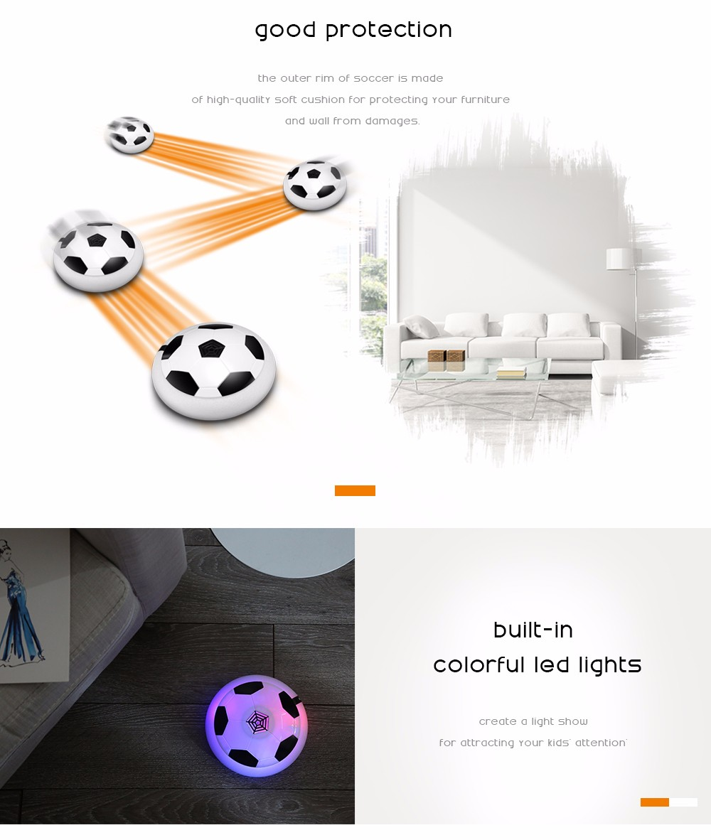 Hover Ball LED Light Flashing Arrival Air Power Soccer Ball  (5)