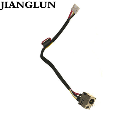 JIANGLUN 5X New DC Power Jack With Cable For HP ENVY Spectre XT Ultrabook 13-2050nr 13-2057nr 13-2150NR 689937-001 689146-SD1 1
