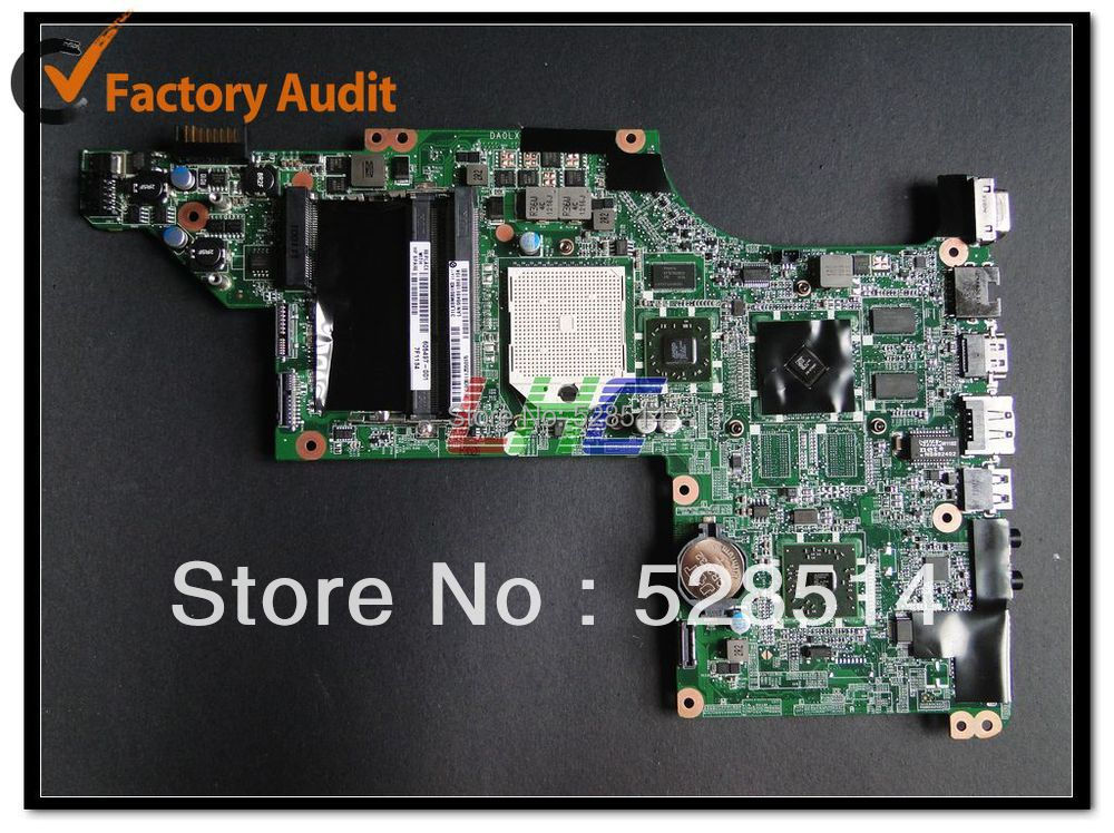 New store 605497-001 motherboard for HP pavilion DV7 laptop mainboard,100% Tested ok, 600862 001 mainboard for hp dv7 laptop motherboard 100