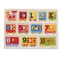 Número Letras Cognição Brinquedo do bebê Brinquedos De Madeira Para Crianças Letras Enigma Montessori Brinquedo Educativo Para O Bebê e Crianças